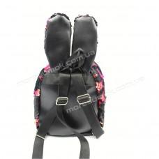 Дитячі рюкзаки 6033 black-pink