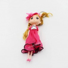Брелки N74 doll dark pink