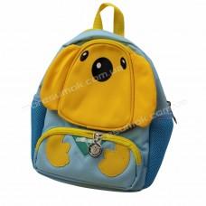 Дитячі рюкзаки 2020 dog light blue-yellow